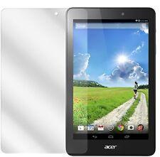 2x Acer Iconia One 8 B1-810 Pellicola Prottetiva Transparente Proteggi Schermo