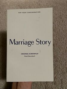 Marriage Story screenplay - FYC script book a
