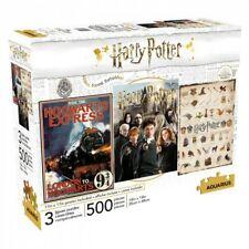 Harry Potter 500pc X 3 Puzzle Set - Aquarius