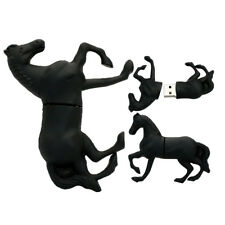 1pc 16GB Black Horse Stallion USB Flash Thumb Drive USA Shipper
