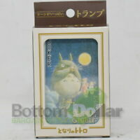 Ensky Totoro Movie Scenes My Neighbor Totoro Playing Cards W/Plastic Clear Case