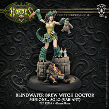 Warmachine Hordes BNIB - Minions Gen Con Exclusive - Brew Witch Doctor