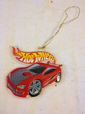 Hot Wheels Christmas Ornament 2001 Plastic