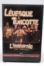 Lévesque & Turcotte: L'intégrale (2 DVD-4 Spectacles) Very Good