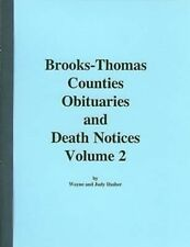 Brooks-Thomas Co. Obituaries & Death Notices Vol. 2