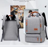 Unisex Men Laptop Backpack Business College Student Portable Bag Multifunction