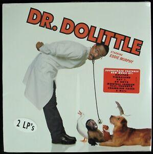 """DR. DOLITTLE: THE ALBUM """"SOUNDTRACK"""" 1998 2X VINYL LP COMPILATION ~HTF~ *SEALED*"""