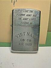 Zippo-encendedor con vietnam-publicidad Khe San 68-69 | de colección del abuelo