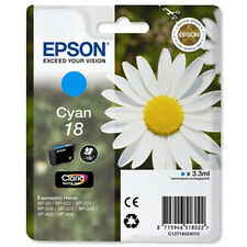 1 Cian Original Epson Xp-30 xp-225 xp-322 xp-405wh xp-412 xp-422 Cartucho De Tinta