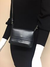 Clare V Navy Mini Crossbody Shoulder Small Flap Date Purse Bag Made in USA 🇺🇸