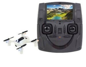 "Hubsan FPV x4 h107d+ Plus Drone 4.3"" LCD 720p HD Headless RC Quadcopter RTF"