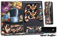 Designer Skin for XBOX ONE 1 Gaming Console+2 Controller Sticker Decal MAD HAT