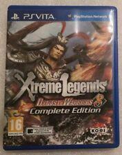 Dynasty Warriors 8 Xtreme Legends Complete Edition ps vita Italiano Pal Ita