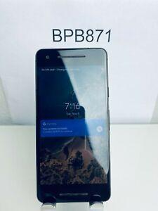Google Pixel 2 - (64 GB Just Black) - UNLOCKED - GA00155-US Excellent Condition