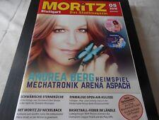 HEFT MORITZ - Stuttgart - mit ANDREA BERG Cover und Schlagerberichte
