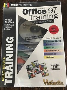 ViaGrafix Office 97 & Windows Training Interactive CD-ROM Multimedia Tutorials