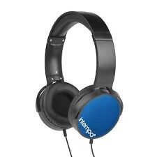 Intempo Dynamic Over Ear Stereo Music Headphone Adjustable Padded Headset Blue
