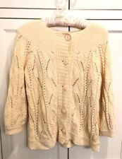 """Never Worn Sundance Catalog Women/'s /""""Harborview/"""" Sweater Light Blue Brand New"""