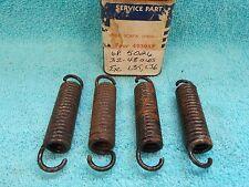 1951-54 CHEVY PASSENGER 1/2 TON TRUCK  BRAKE SHOE ADJUSTING SPRINGS  4  NOS 1116