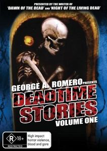 George A. Romero Presents Deadtime Stories Vol 1 (DVD) NEW/SEALED