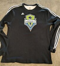 XL Adidas SEATTLE SOUNDERS FC Thermal Graphic Long Sleeve Shirt!