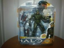Halo 2 Series 8 Master Chief Action Figure 26 Moving Parts McFarlane Toy NEW HTF