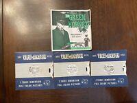"The GREEN HORNET ""Programmed For Death""  1966  3d View-Master 3 Reel Set B488"