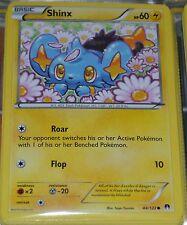Shinx # 44/122 XY Breakpoint Set Pokemon Trading Cards Break Point MINT
