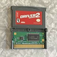Driver 2 Advance Nintendo Gameboy Advance TESTED Authentic GBA Fast Ship!