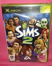 THE SIMS 2 ---SEALED--- Xbox X-Box X Box Gioco Game EA Sports