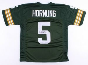 Paul Hornung Signed Packers Jersey (JSA COA) 1986 Hall of Fame Inductee