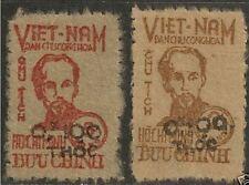 NORTH VIETNAM 1955 HO CHI MINH (Scott 1L62-1L63) VM2 06-07 MNH VF Cat Value $400