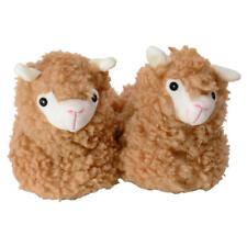 Hausschuhe Lama in 39/40 Pantoffeln Slipper Alpaka Alpaca Kamel warm 1x Paar