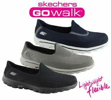 Skechers Flat (0 to 1/2 in.) Synthetic Athletic Shoes for Women