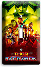 THOR RAGNAROK HULK SUPERHERO SINGLE LIGHT SWITCH WALL PLATE COVER ROOM ART DECOR