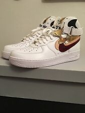 04580aff28e Nike Air Force 1 Hi White Misplaced Checks SZ 12 DS Pair 23 75 John
