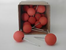 Ball Target Pins (24) Red