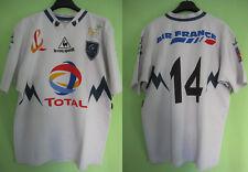 Maillot Rugby section paloise SP Pau Le Coq Sportif Porté #14 Vintage Shirt - XL
