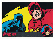 Marvel Avengers Silver Age 82 Silver Parallel Chase Card 063/100