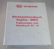 Manual de Taller Kia Sephia a Partir Año Fab. 1996 Stand 1996