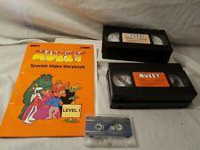 BBC Muzzy Spanish Level 1 VHS Early Advantage BBC Learning Language Course