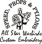 All Star Warbirds Custom Embroidery