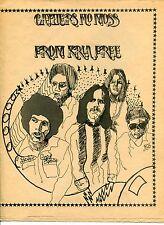 1970 KRLA Radio Brochure: Weekly Songs Listing & PROCOL HARUM Article [So. CA]