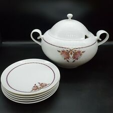 Rosenthal  Orchid Romance Covered Vegetable & Bread Plates
