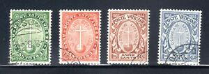 1933 VATICAN CITY HOLY YEAR SEMI-POST SET USED