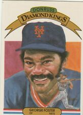 FREE SHIPPING-MINT-1983 Donruss #6 George Foster New York Mets DK-+ BONUS CARDS