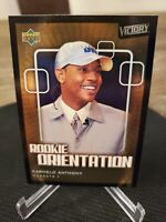 Carmelo Anthony Rookie Orientation BGS 8 2003-04 Upper Deck Victory #103 RC B