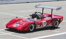 1969 Lola T163 Can-Am Vintage Classic Race Car Photo CA-1292