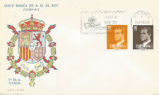 SPD FDC Spain Basic Series Edifil #2558/2559 1980