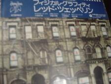 LED ZEPPELIN PHYSICAL GRAFFITI JAPAN REPLICA DIE-CUT EXACT TO LP RELEASE OBI CD